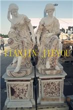Luxury New Marble Carving Marble Sculpture,Statur