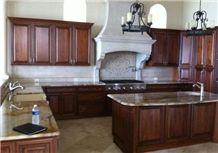 Desert Storm Granite Kitchen Countertop, Desert Storm Yellow Granite Kitchen Countertops