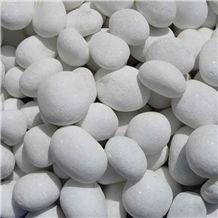 Pebble Stone, White Marble Pebbles & Gravels