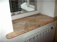 Estremoz Crema Con Vergada Marble Window Sill