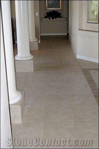 Chaperra Cream Travertine Floor Tiles From United States