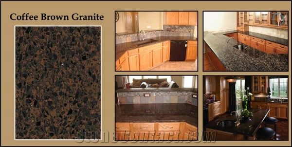 Coffee Brown Granite Countertop From United Kingdom 237897
