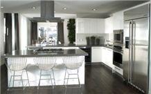 Platinum MyStone Quartz Surfaces Kitchen Countertop