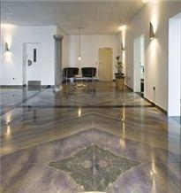 Azul Imperial Quartzite Floor Tiles, Brazil Blue Quartzite