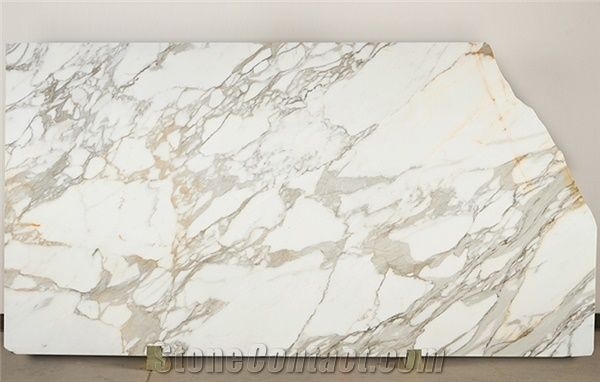 Calacatta Borghini Marble Slabs Italy White Marble From