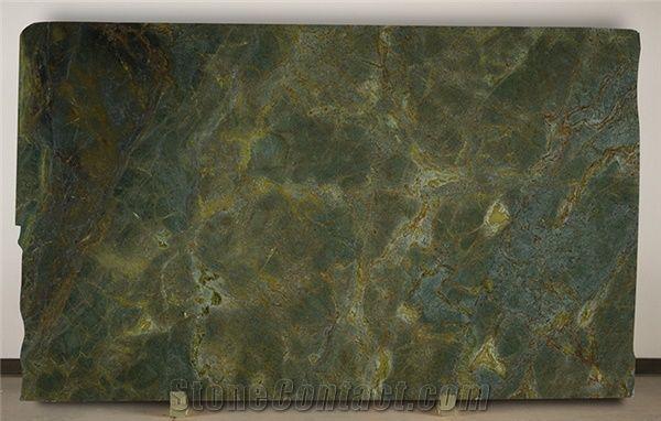 Verde Vecchio Granite Slabs 2 Cm 3 Cm Polished Antique