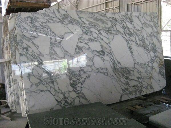 Popular Italy Arabescato White Carrara Marble Polished Big