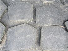 Basalt Flamed Flagstone, Black Basalt Flagstone