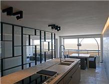 Honed Grigio Alpi Limestone Contertop, Grigio Alpi Grey Limestone Kitchen Countertops