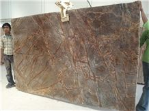 Bidasar Brown Marble ,Rainforest Brown Marble