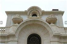 Bianco Avorio Limestone Building, Walling