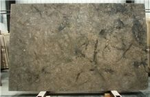 Polished Cali Brun Limestone Slabs, Pierre Brun Limestone