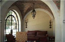 Stone Arch Design, Beige Limestone Arch Design