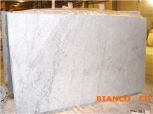 Italian Carrara Slabs & Tiles , Bianco Carrara White Marble