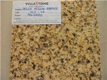 Vietnam Dark Yellow Granite Slabs & Tiles