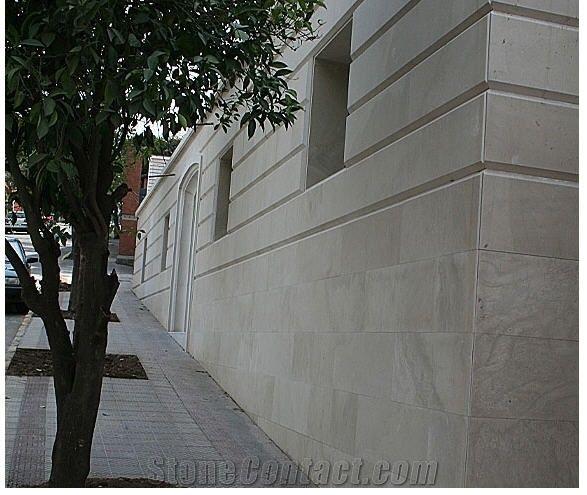 Gris Lano Spanish Limestone Facade From Australia