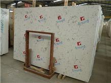 Volakas White Artificial Marble Slabs