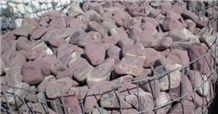Rosso Laguna Red Marble Garden Stone