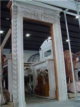 White Marble Door Frame
