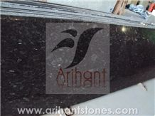 Flash Blue Granite Slab, India Blue Granite