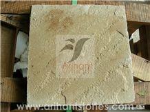 Fossil Sandstone Slab, India Yellow Sandstone