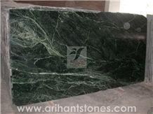 Rainforest Green Marble Tiles, Slabs
