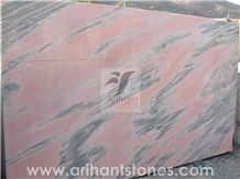 Rose Black Marble Slab