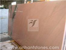 Rose Pink Marble Slab