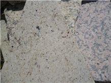 Champagne Mist Granite, Purple Spots White Granite Tiles