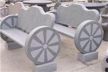 Light G603 Grey Granite Bench