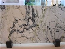 Picasso White Marble Slabs, Marble Big Slabs