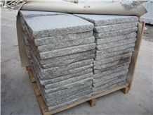 Chinese Granite Grey and White Small Paving Tiles