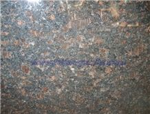 Tan Brown Granite Polished, Slab, Tile