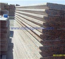 Tianshan Red Granite Polished Flamed Steps