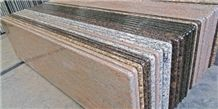 Indian Ivory Red Granite Kitchen Countertops