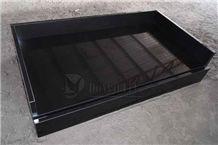 Mongolia Black Polished Granite Vanitytop, Mongolia Black Granite Bath Tops