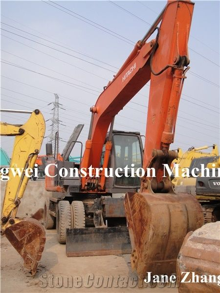 Used Wheel Excavator Hitachi Zx160w for Sale from China
