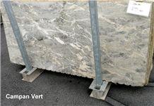 Campan Payolle Vert Marble Slabs, Campan Vert Marble