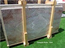 Campan Rose Vert Marble Slabs