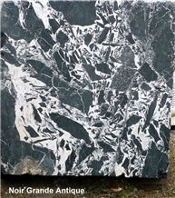 Noir Grand Antique Marble Slabs, France Black Marble