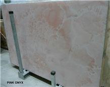 Pink Onyx Tiles & Slabs