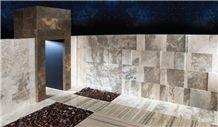 Alabastro Travertine Stardust Wall and Floor Tiles