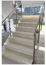 Crema Marfil San Cristobal Marble Staircase, Crema Marfil San Cristobal Mar Beige Marble Stair