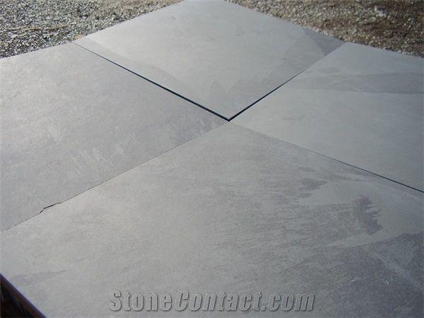 Brazilian Black Slate Slabs Tiles