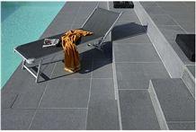 Padang Dark G654 Granite Pool Deck Pavers