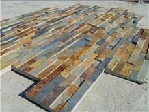 P1120 Rusty Culture Slate, Rusty Ledge Stone