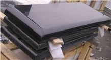 Shanxi Black Granite Rectangle Tombstone