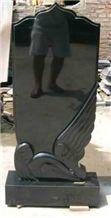 Shanxi Black Tombstone, Gravestone, Headstone