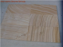 Teakwood Wave China Yellow Sandstone