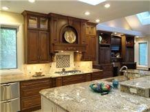 Sun Flower Granite Kitchen Countertop